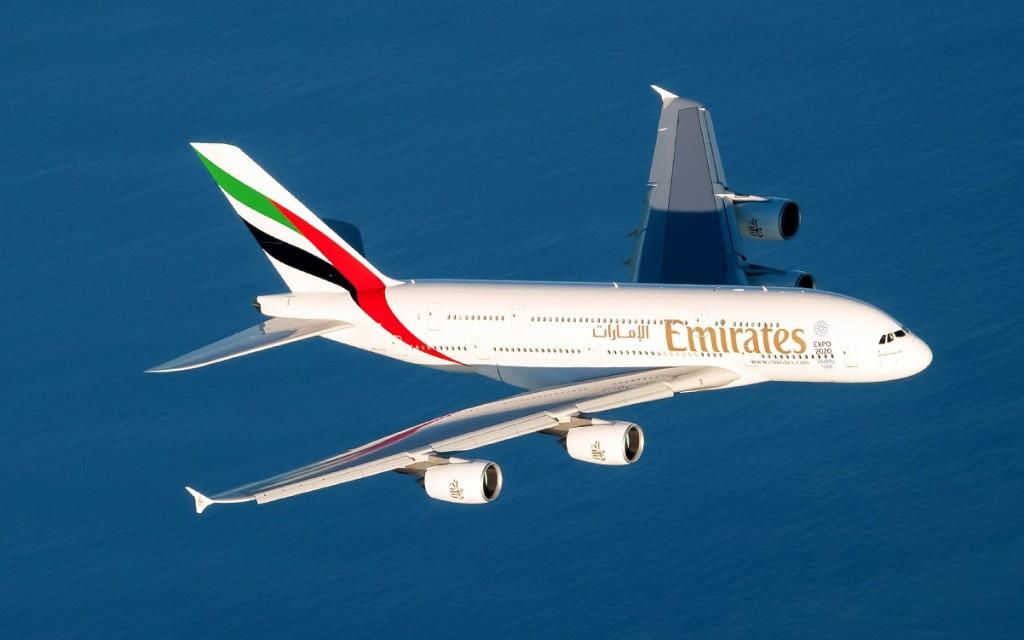 Voos diários da Emirates com o Airbus A380 começam em 26 de março (Foto: Divulgação)