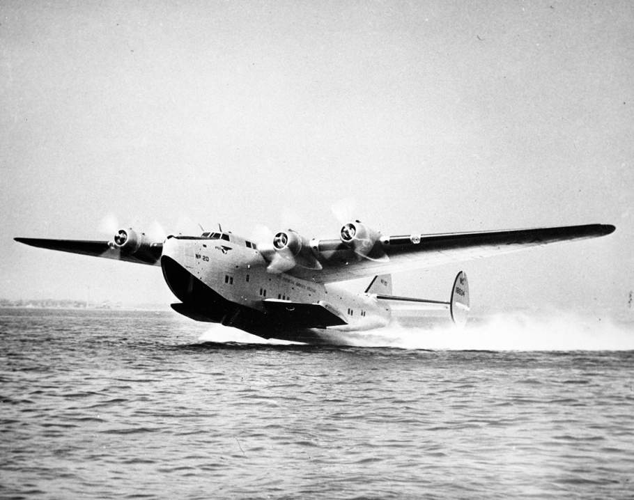 Hidroavião Boeing 314 da americana Pan Am (Foto: National and Air Space Museum)